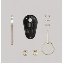 ZINC CAPO PINS