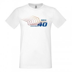T-SHIRT 40TH SPARCO TG. XXL...