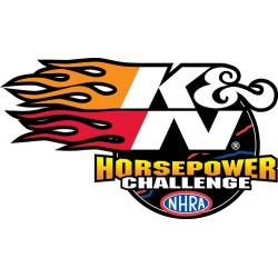 DECAL K & N NHRA HP...