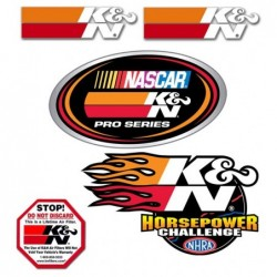 DECAL/STICKER PACK K&N